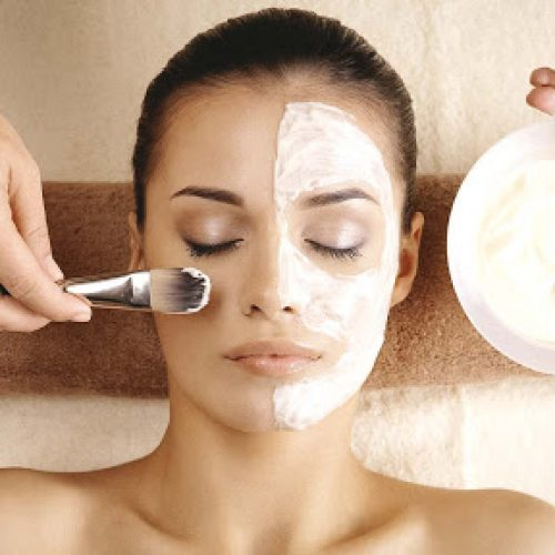 Masque visage maison acné